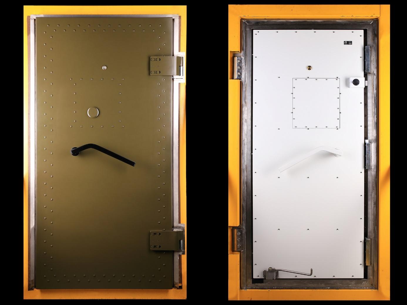 drzwi szczelne elektromagnetycznie