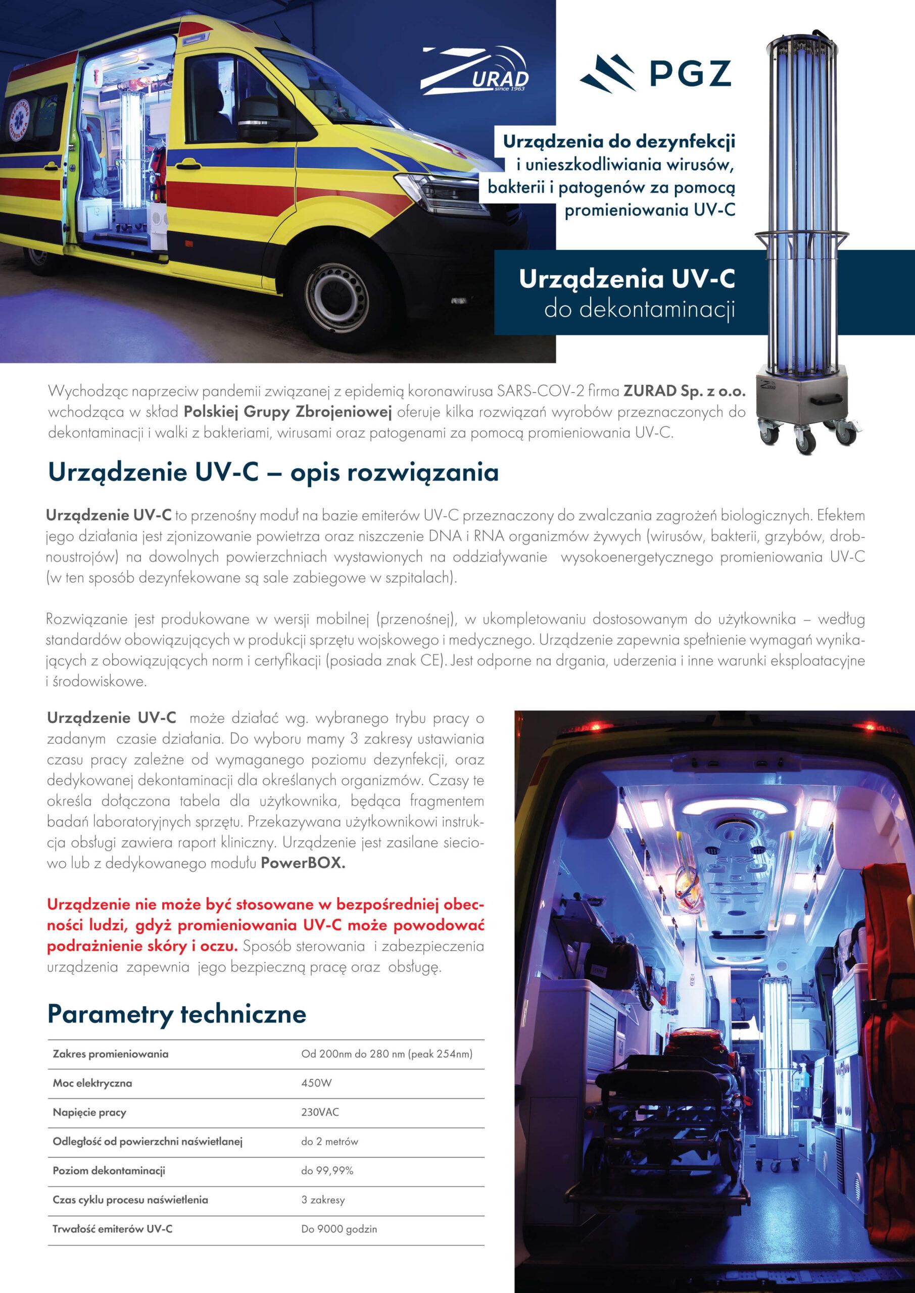 Urządzenie_UV-C_Ulotka