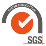 Certyfikat SGS potwierdzający skuteczność rozwiązania