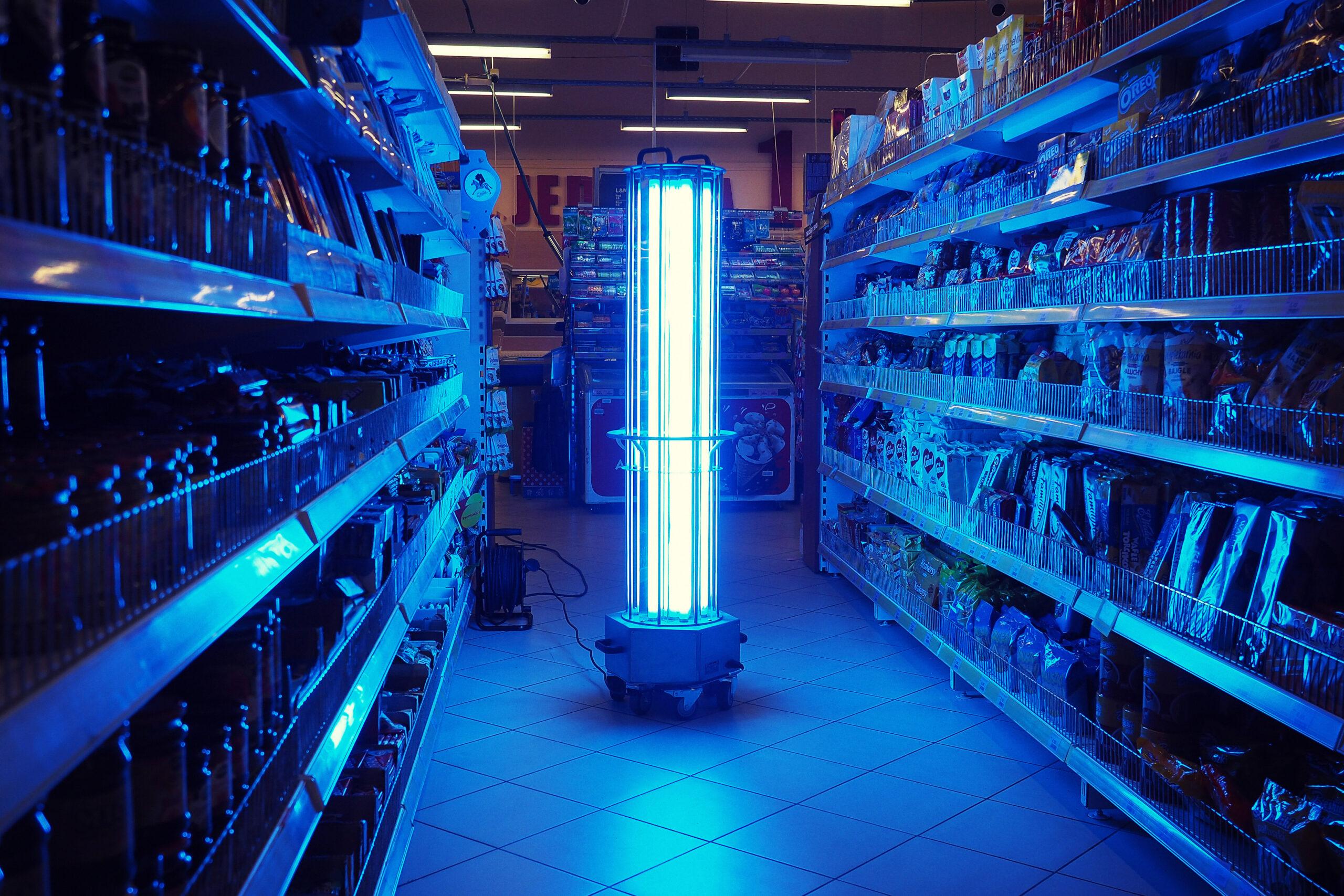 Odkażanie pomieszczeń w sklepach, marketach i supermarketach