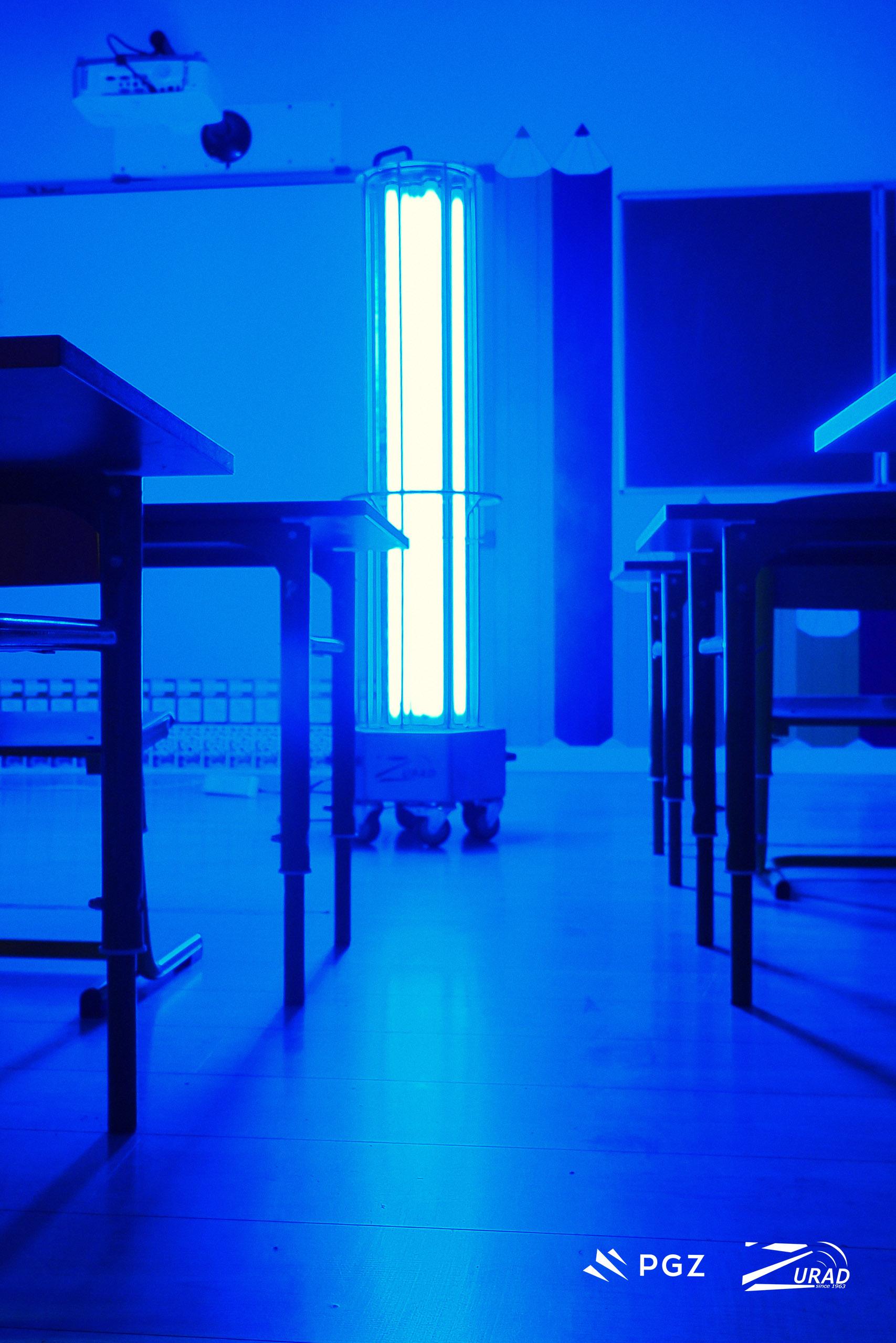 odkażanie pomieszczeń szkolnych
