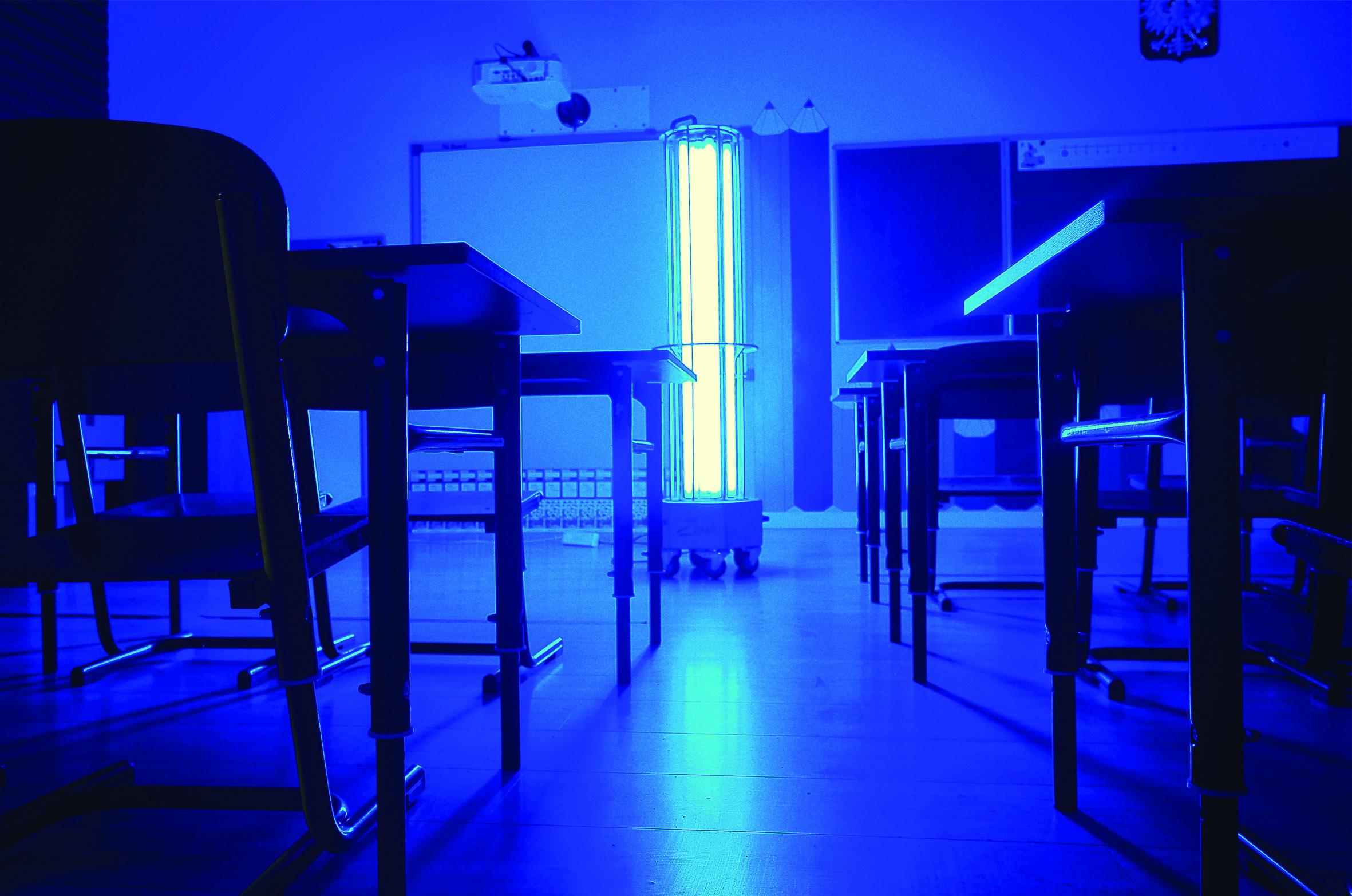 Większe bezpieczeństwo dla uczniów, nauczycieli oraz rodziców. Nowe rozwiązania UV-C dla szkół.